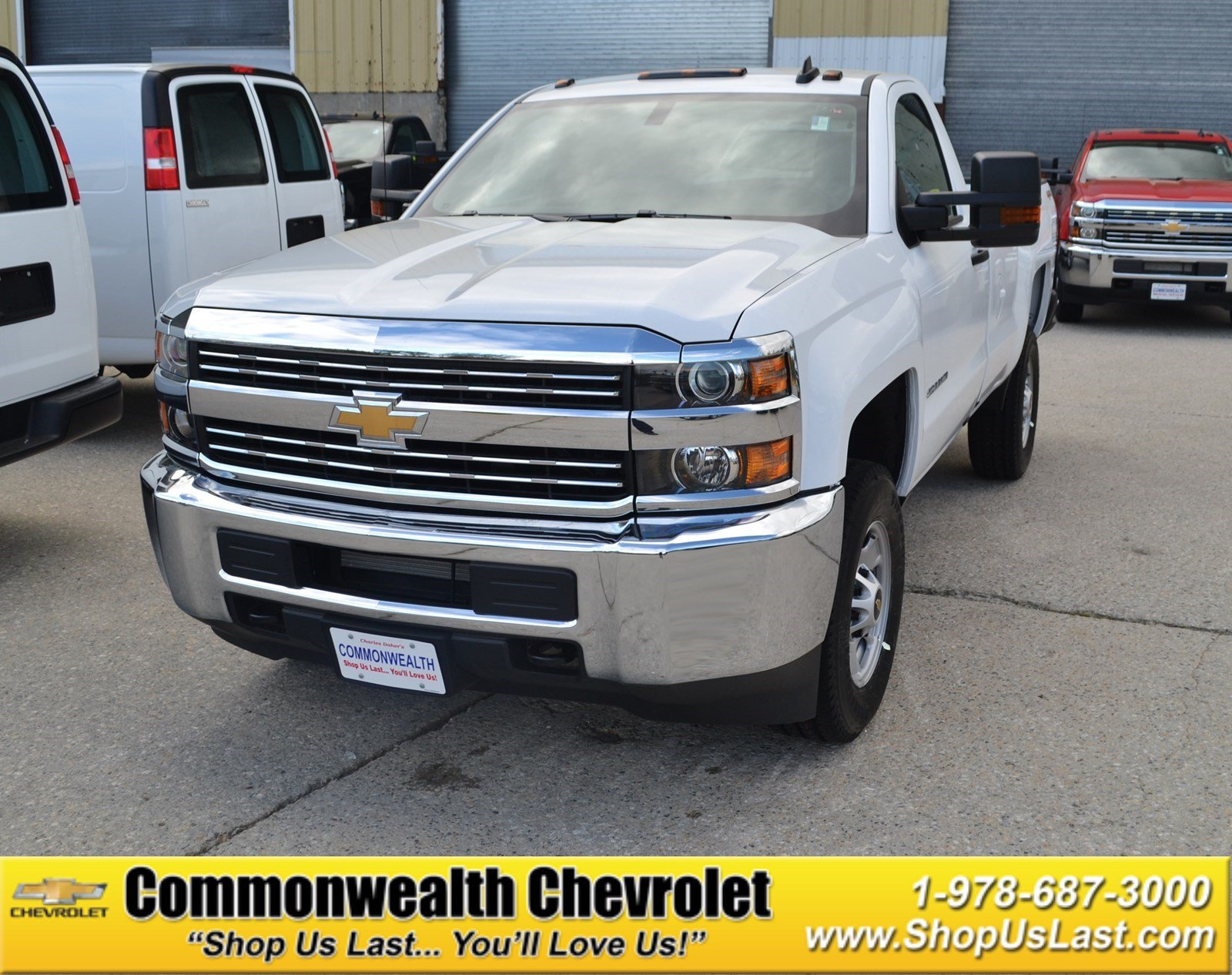 new 2017 chevrolet silverado 2500hd work truck regular cab pickup