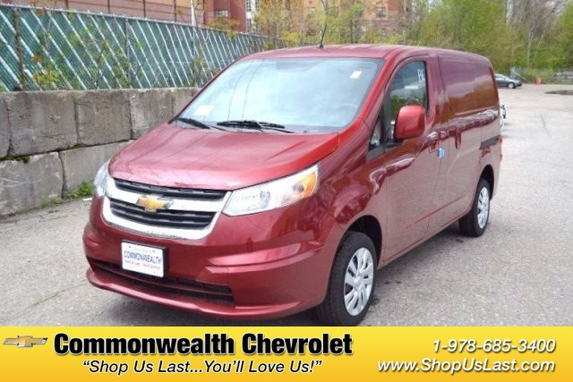 New 2017 Chevrolet City Express Cargo Van LS Minivan/Van in Lawrence