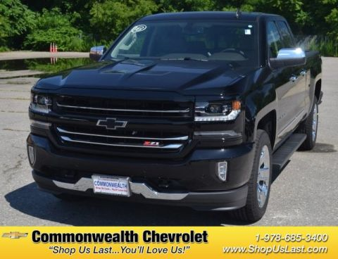 New Chevrolet Silverado 1500 In Lawrence Commonwealth